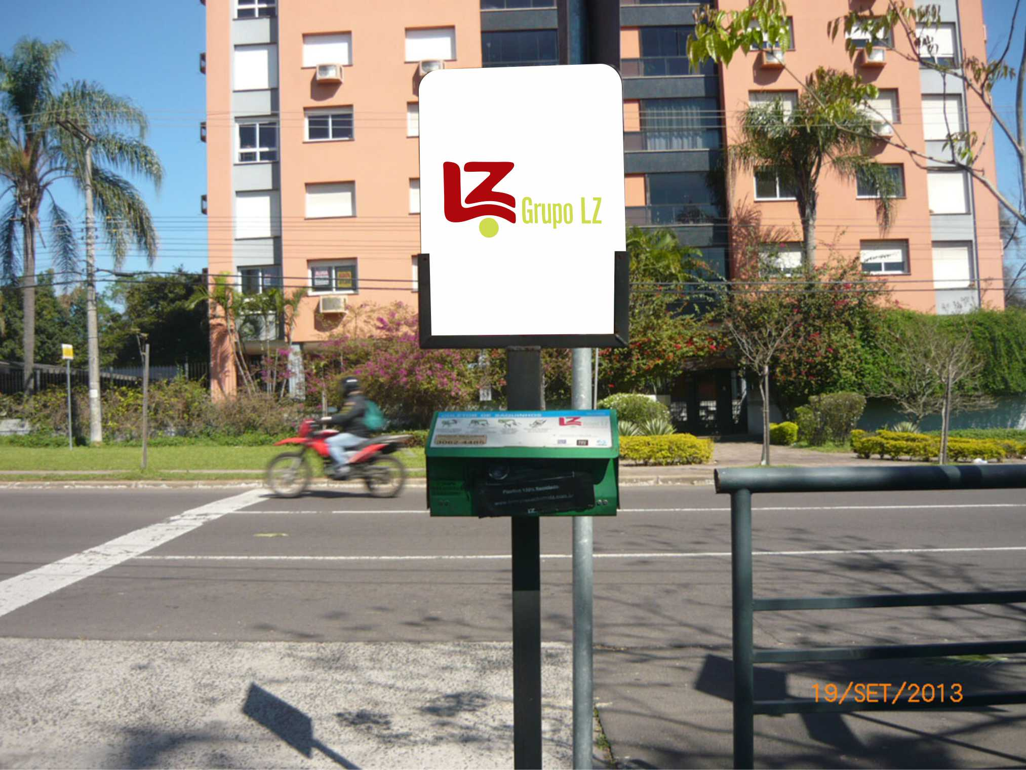 Dispensador de Saquinhos - Grupo LZ
